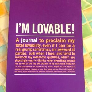 Journaling book with helpful quotes and pages